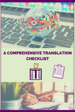 Translation Services Checklist Cover Photo