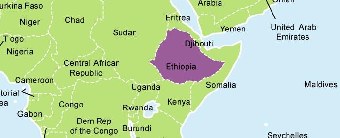 amharic region map