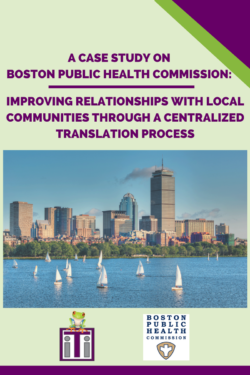 Cover photo BPHC Case Study