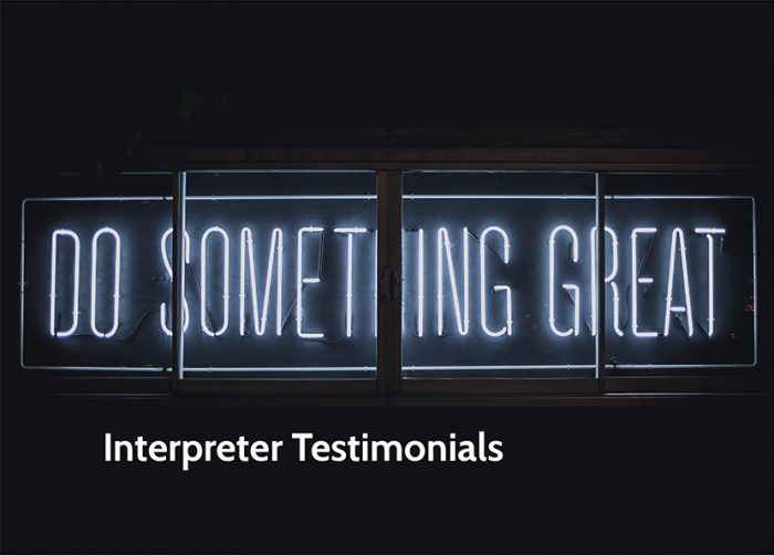 interpreter testimonials for iTi [Title Image]