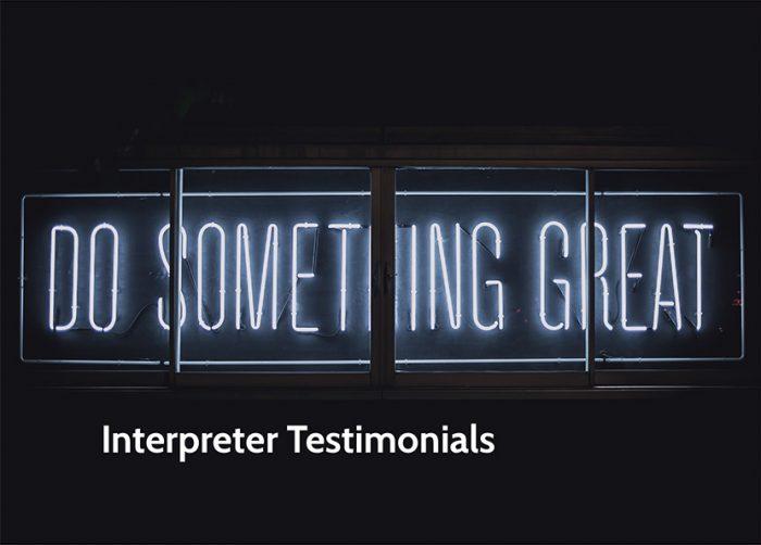 interpreter testimonials for iTi [Title Image]
