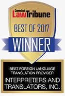 Law Tribune Best of 2017 Winner