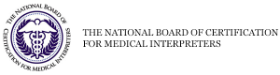 National board of certification for medical interpreters [seal]