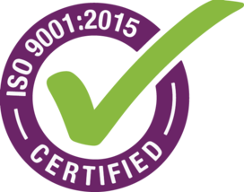 iTi - ISO 9001:2015 Certified [icon / label]