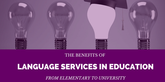 Benefits of Language Services in Education