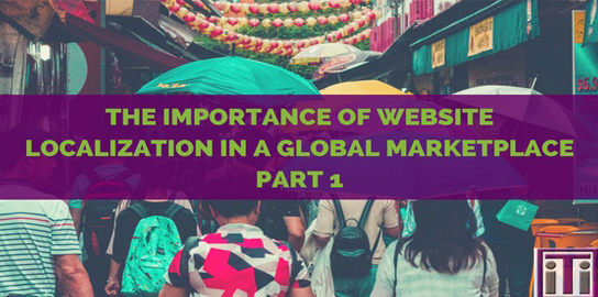 Importance of website localization