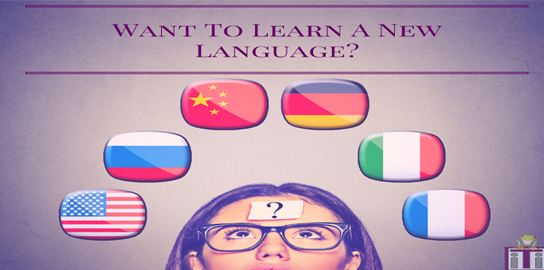 Want to learn a new language-