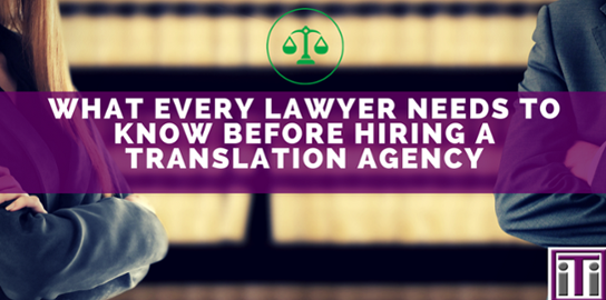 banner legal icon translation agency