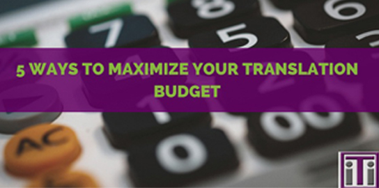banner business translation services - maximize budget