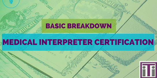medical interpreter training and certification