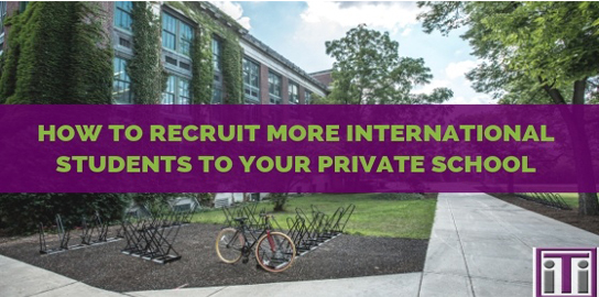 recruit more international students
