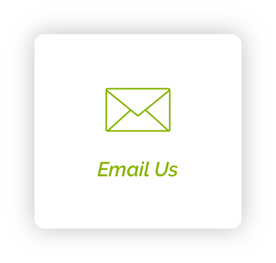 Email Icon with text saying to email us