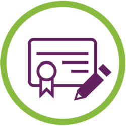 Certified Personal Document Translation Icon