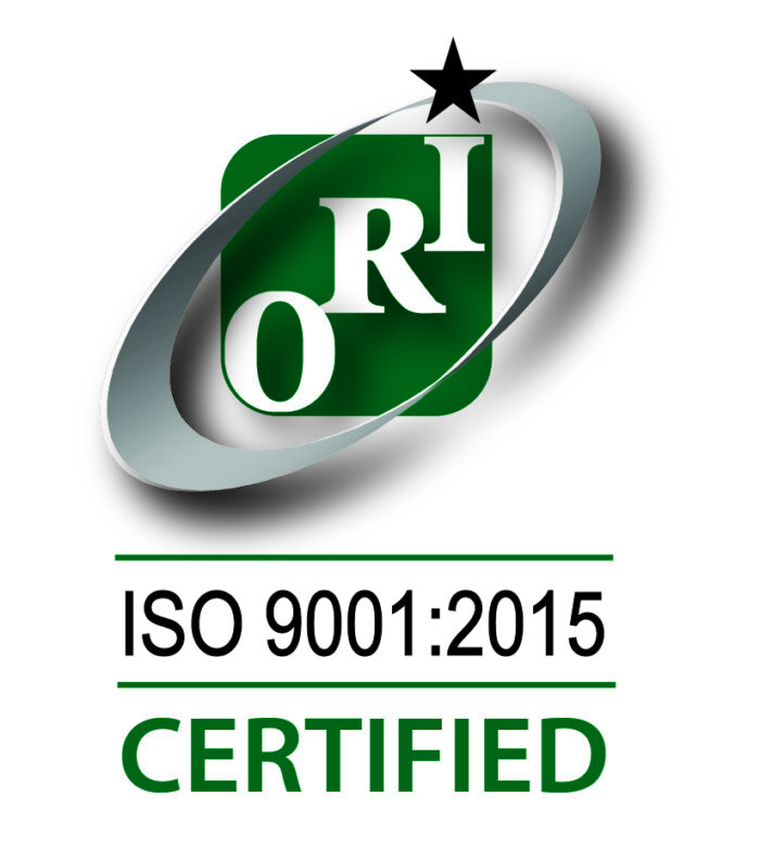 ISO-9001-2015 certification badge